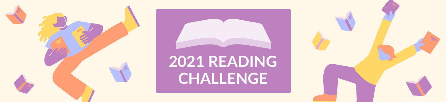 Goodreads 2021 Reading Challenge banner