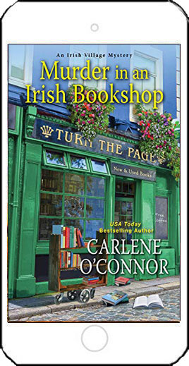Murder in an Irish Bookshop by Carlene O'Connor