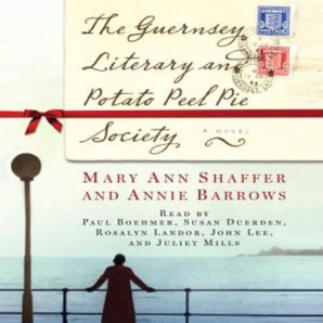 he Guernsey Literary and PPP Society audiobook cover