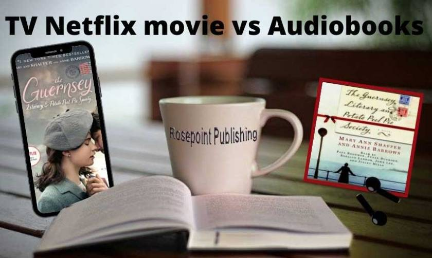 TV Netflix movie vs audiobook