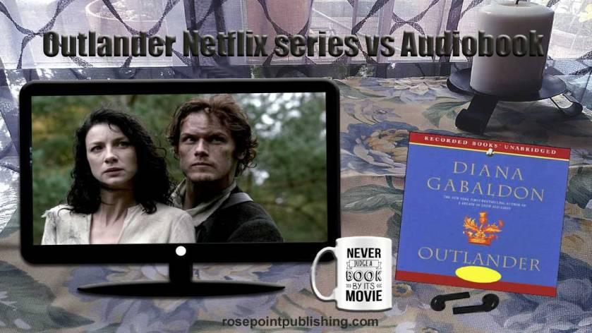 TV Netflix Series Outlander vs Audiobook